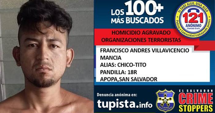 Pandillero de los 100 Más Buscados, recién capturado, se fugó de bartolina policial de Apopa