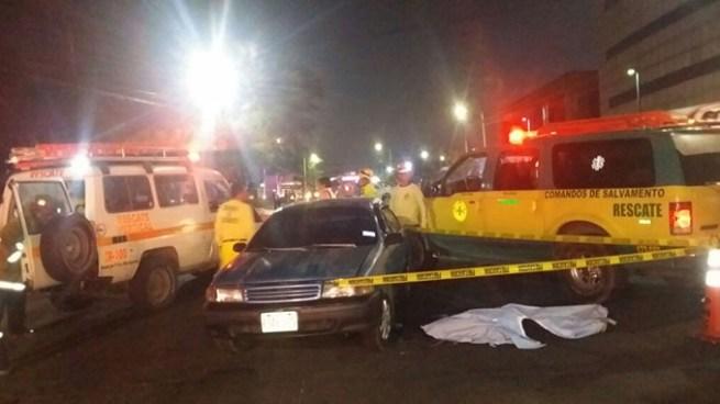 Madre e hijo murieron esta noche tras ser atropellados en el bulevar Tutunichapa