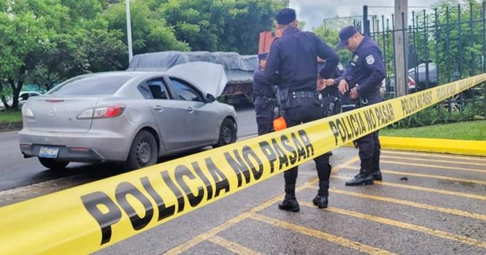 Rescatan a víctima que fue privada de libertad por pandilleros en carretera de Oro