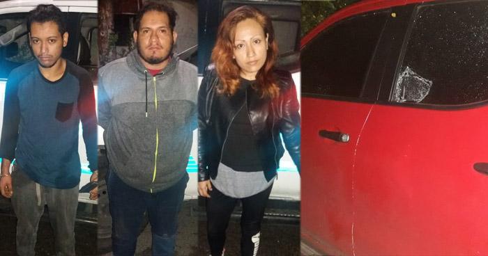 Capturan a miembros de banda roba carros que operaba en Soyapango