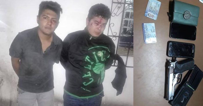 Caen pandilleros robaban a mano armada en Ciudad Delgado