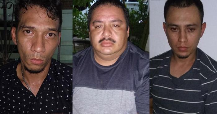 Tres detenidos por robo de dinero y celulares en negocio de Santa Ana