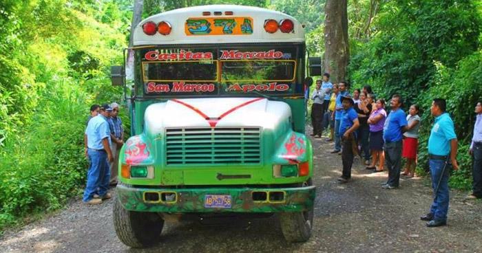 Autobuses de la ruta 37 de Santo Tomás en paro de labores por amenazas de pandillas