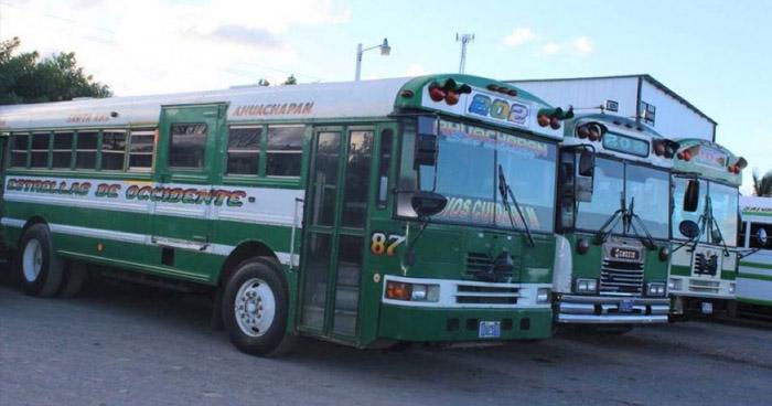 Ruta de buses 202 en paro de labores por amenazas de pandillas