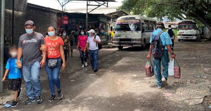 Estas rutas tendrán nuevos recorridos y paradas por obras en el Centro de San Salvador
