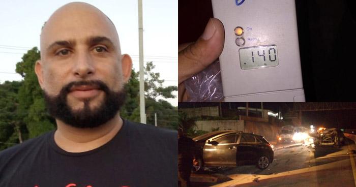 Salvadoreño residente en EE.UU. choca por conducir en estado de ebriedad