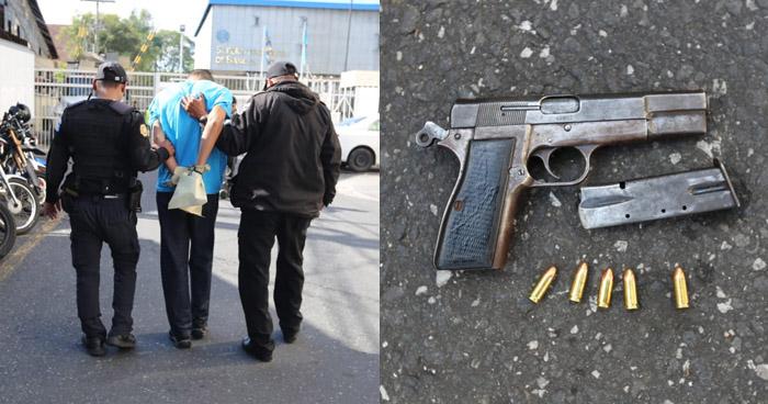 Capturan a salvadoreño luego que asesinara a un motorista en la capital de Guatemala
