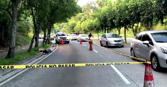 Cadaver de un hombre fue encontrado en la prolongación calle San Antonio Abad