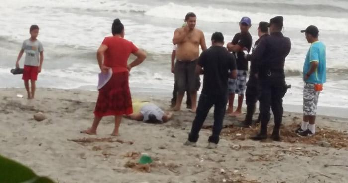 Hombre muere ahogado en la playa San Diego, de La Libertad