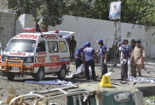 Segundo atentado en Pakistán deja a 18 muertos y 70 heridos por explosiones