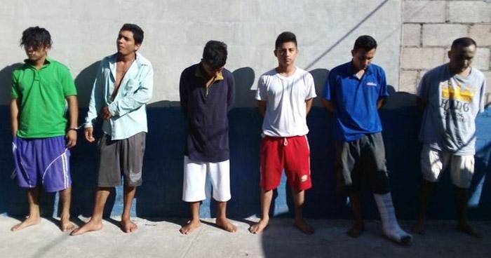 Homicida y traficantes de droga entre capturados tras operativo en Usulután