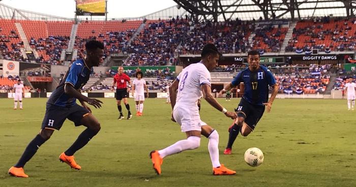 La Selecta de Carlos de Los Cobos debuta con una victoria 1-0 ante Honduras