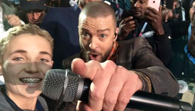El niño que se volvió viral por su reacción después de tomarse una selfie con Justin Timberlake