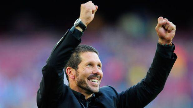 Diego Simeone fue elegido como el mejor entrenador del mundo