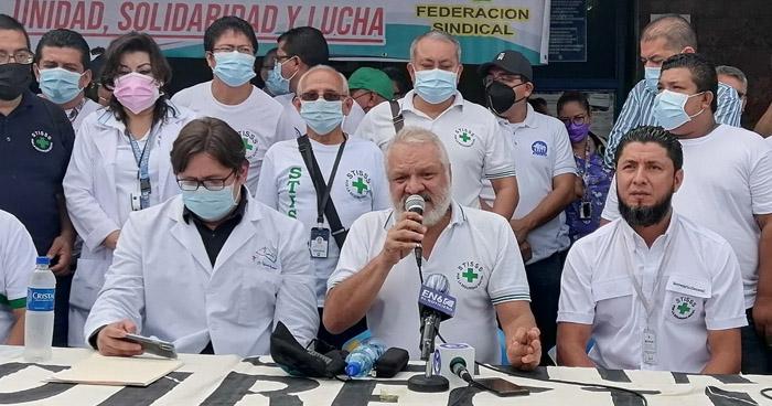 Sindicalistas del ISSS rechazan paquete de reformas a la Ley del Seguro Social