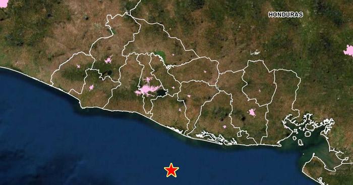 Sismo de 3.9 sacudió esta tarde la costa de La Paz