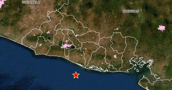 Sismo sacudió la costa del departamento de La Paz
