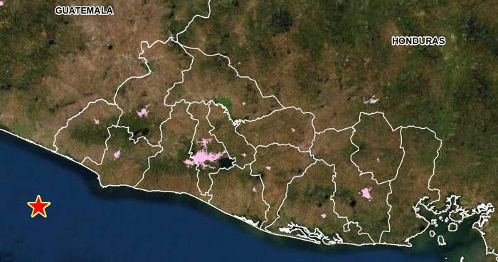 Sismo de 3.9 sacudió este domingo el occidente del país