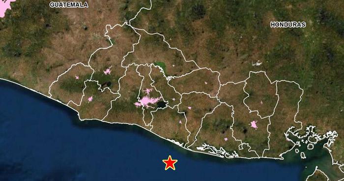 Sismo de 4.0 sacude la costa del departamento de La Paz