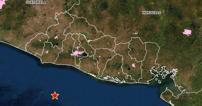 Sismo de 3.7 sacudió esta mañana la costa de La Libertad