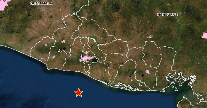 Sismo de 3.6 sacudió esta tarde la costa de La Libertad