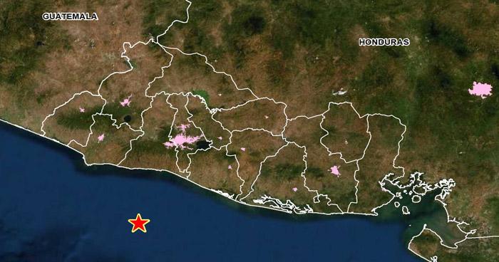 Sismo de 3.8 sacudió esta mañana la costa de La Libertad