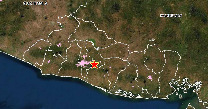 Sismo de 2.6 sacudió esta tarde el Lago de Ilopango, San Salvador