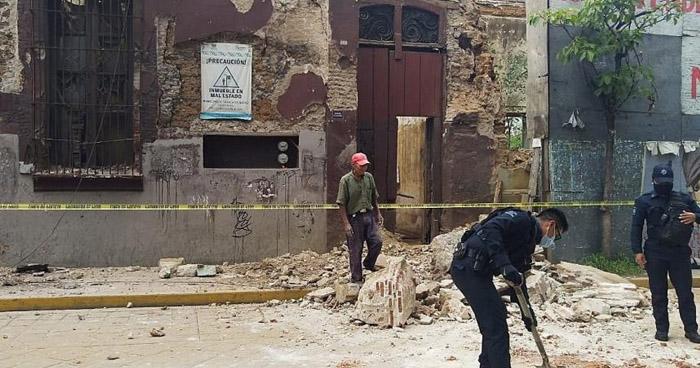 Sismo de 7.5 en México dejó 10 fallecidos