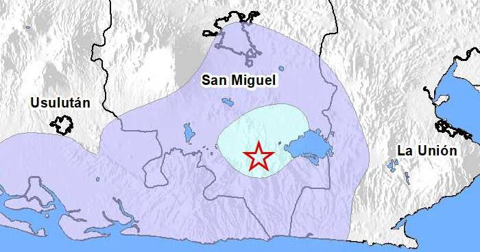 Protección Civil emite advertencia por actividad sísmica en San Miguel