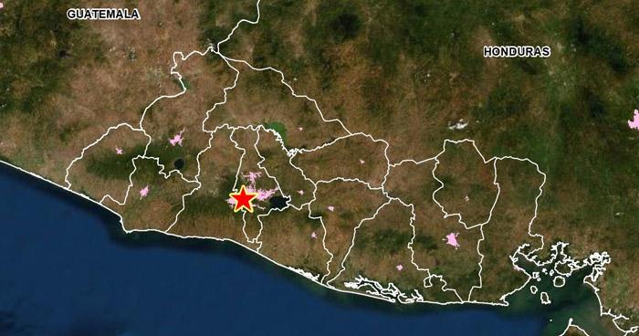 Registran sismo con epicentro en San Salvador