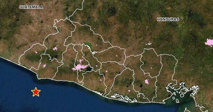 Sismo de 3.9 sacudió esta mañana parte del occidente del país