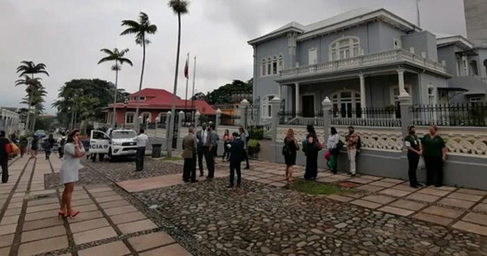 Sismo de 6.0 sacudió esta tarde a Costa Rica