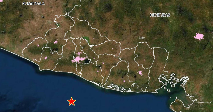 Sismo de 3.5 sacudió esta madrugada la costa de La Libertad