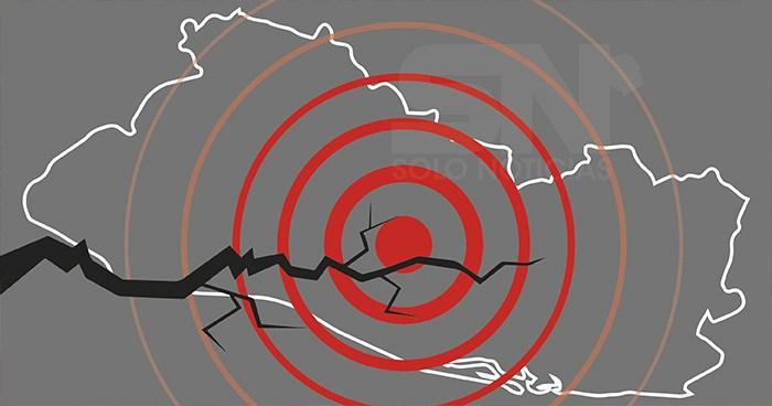 Sismo 4.1 sacudió esta mañana diferentes puntos del país