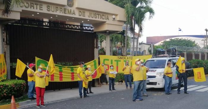 Sindicalistas del Órgano Judicial esperan la llegada de nuevos magistrados