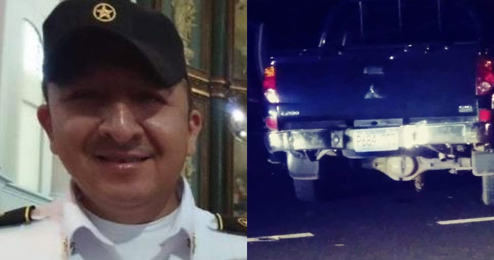 Subcomisionado de la PNC muere en accidente de tránsito en San Vicente
