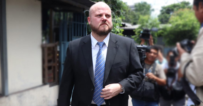 Alejandro Muyshondt fue sobreseído por expresiones de violencia contra la mujer