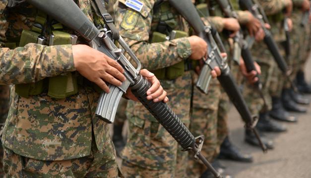 Militar muere en San Miguel por deshidratación