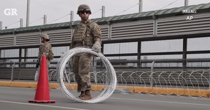 Donald Trump autorizó a soldados usar fuerza contra migrantes de las caravanas