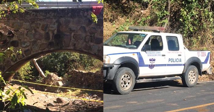 Mujer se suicida lanzándose de un puente en La Unión