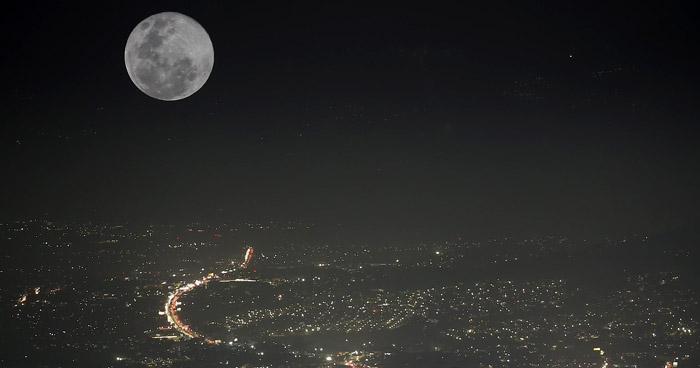 """""""Super Luna de Nieve"""" se podrá apreciar este fin de semana"""