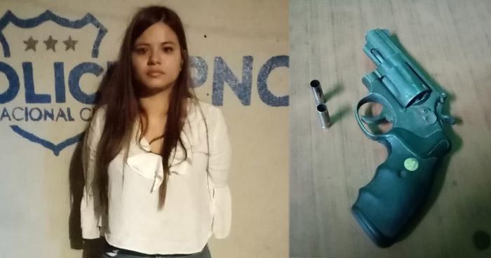 Solicitarán detención para Tania Segura por dispararle a una mujer en Colonia Zacamil
