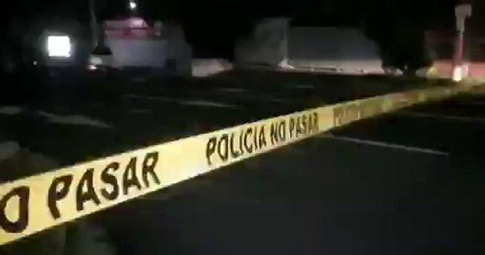 Taxista asesinado cuando hacía meta en calle Zacamil, Mejicanos