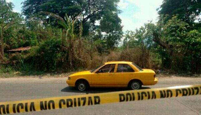 Pandilleros contratan a un taxista para luego asesinarlo en San José Villanueva, La Libertad