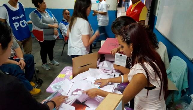 En urna de Santa Tecla ni una sola persona votó por el FMLN