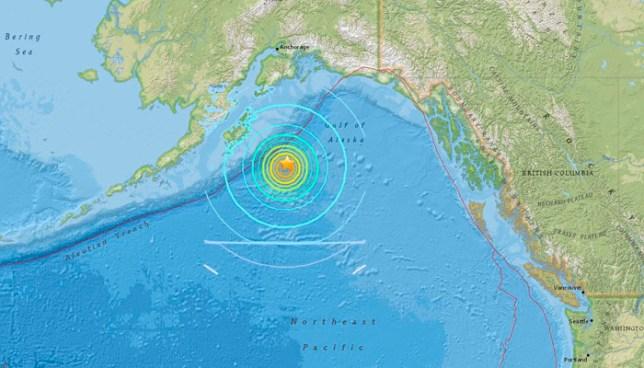 Terremoto de 8,2 en Alaska activa una alerta de tsunami en el Pacífico