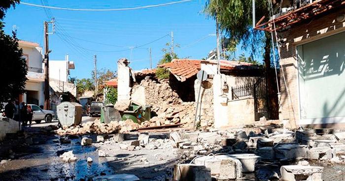 Al menos un muerto y nueve heridos deja terremoto en la isla griega de Creta