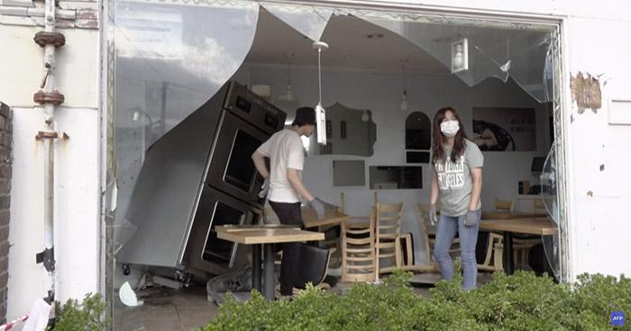 Potente tifón azota a las dos Coreas y deja un muerto