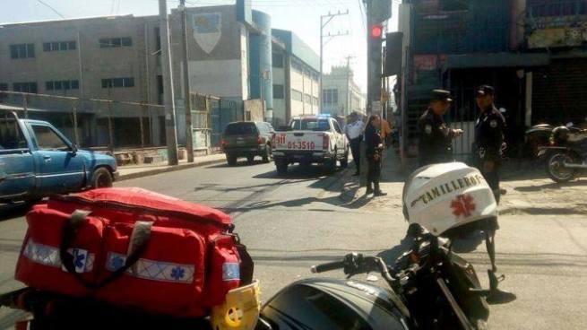 Al menos dos lesionados tras tiroteo en el centro de San Salvador