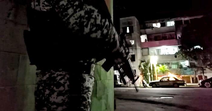 Tres pandilleros detenidos tras tiroteo en colonia Zacamil, en Mejicanos
